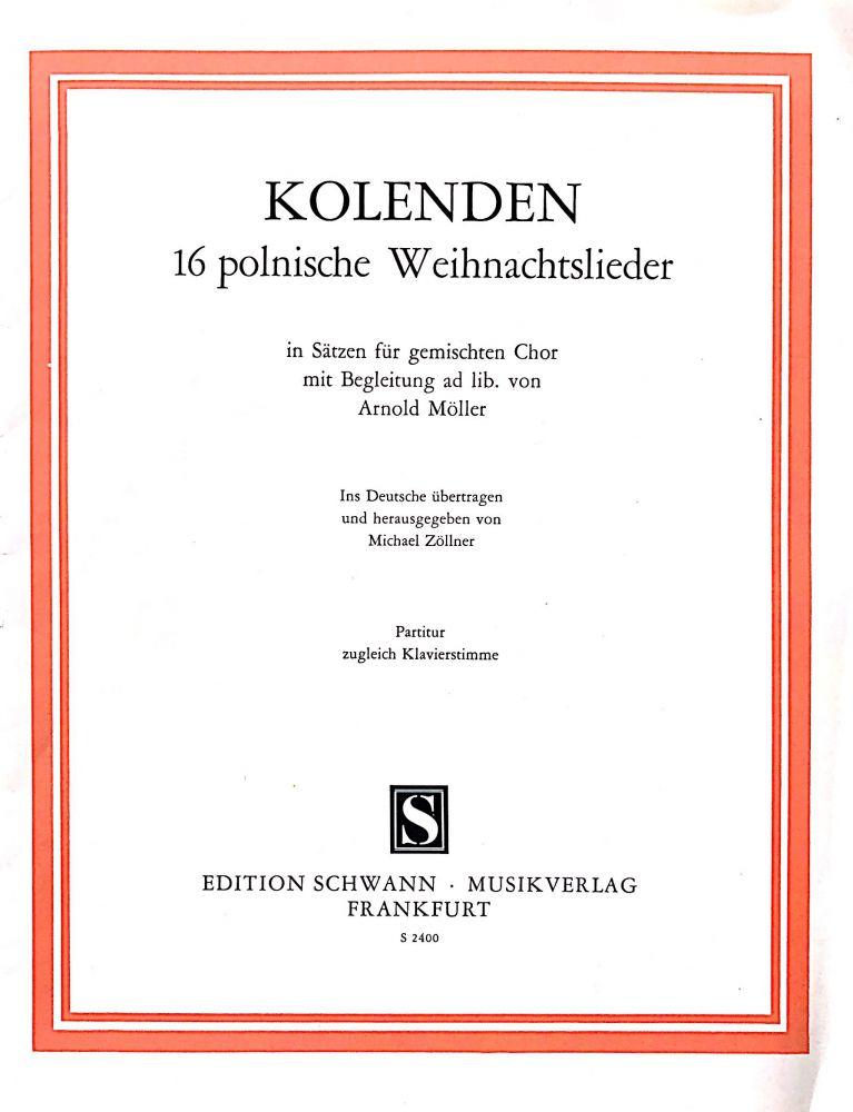 Polnische Weihnachtslieder Texte.Kolenden 16 Polnische Weihachtslieder Gebraucht Kaufen