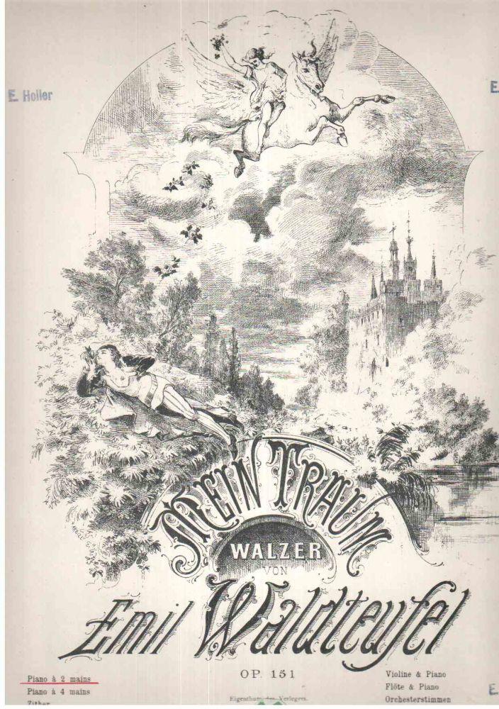 Waldteufel Walzer für Klavier Mein Traum